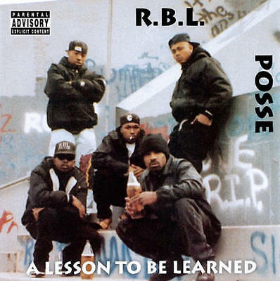 RBL Posse - A Lesson To Be Learned LP REISSUE NEW San Francisco gangsta rap [PA]