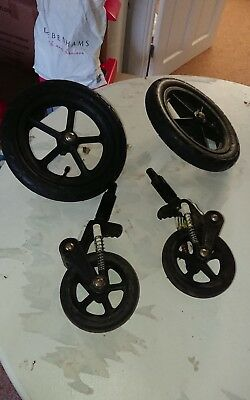 bugaboo wheels front and back