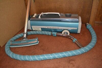 Vintage Electrolux Model 1205 Canister Vacuum Cleaner & Hose Cleaner Head GREAT