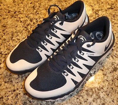 e944bbe768b2 Nike Trainer Free 5.0 V6 AMP shoes Sneakers New 723939 410 size 15 Penn  State