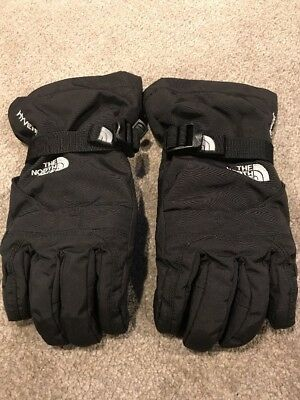 THE NORTH FACE HYVENT Black Gloves Youth/Juniors Small