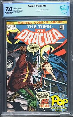 Tomb of Dracula #10 (Jul 1973, Marvel) CBCS 7.0