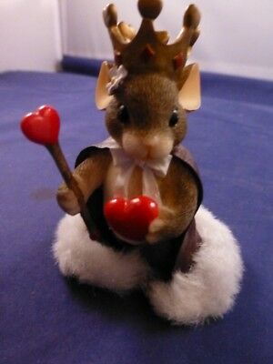 "Charming Tails Figurine ""Queen of My Heart"""