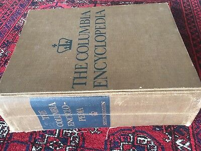 Mankind's Knowledge of year 1957: COLUMBIA Encyclopedia 2nd Edition 2253 pages