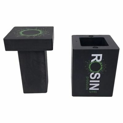 "Rosin Tech RTP Pre-Press ABS Hard Plastic Mini Mold Size: 3"" x 2"" 1/8 Capacity"