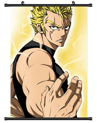 B4899 FAIRY TAIL Laxus anime manga Wall scroll Stoffposter 25x35cm