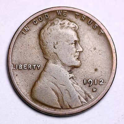 1912-D Lincoln Wheat Cent Penny LOWEST PRICES ON THE BAY!  FREE SHIPPING!