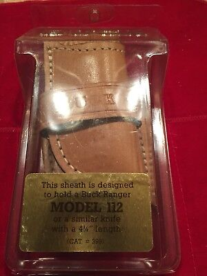 Buck 112 Custom Sheath In Factory Package