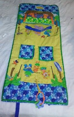 Infantino Happy Hula Shopping Grocery Cart Cover Blue