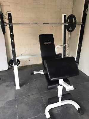 Heavy Duty Bench Press and Weights