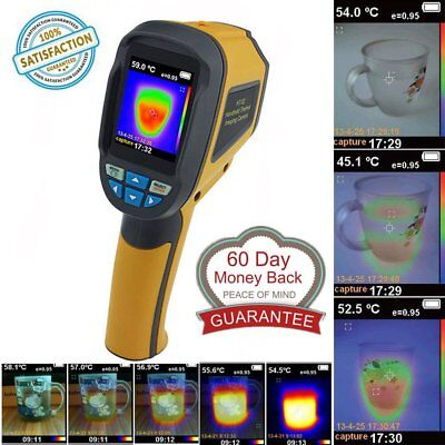 Precision Protable Thermal Imaging Camera Infrared Thermometer Imager HT-02 CE