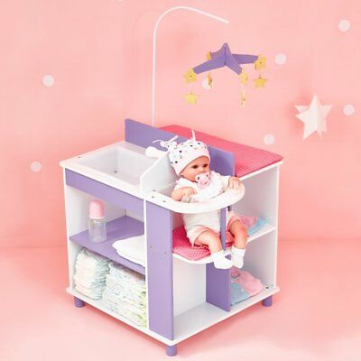NEW 45cm Doll Furniture Baby Changing Station Storage Little Princess Olivia's