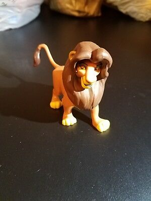 Disney Store Authentic SIMBA LION KING FIGURINE Cake TOPPER Toy GUARD NEW
