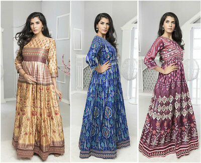 New Anarkali Designer Long Gown Style Traditional Bollywood Dress Twl