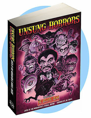 UNSUNG HORRORS: 448 page colour large format celebration of fab forgotten films