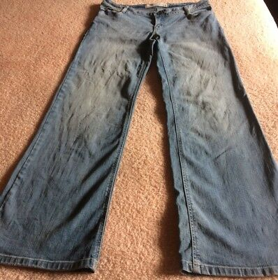 Women's Just Jeans size 14, mid rise, wide leg jeans