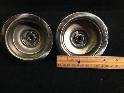 Two Commercial Stainless Steel Sink Drains