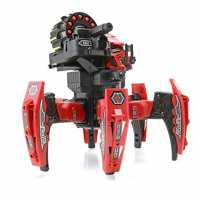 RC Space Warrior Battle Shooting Robot Remote Control Spider Bot 2.4Ghz