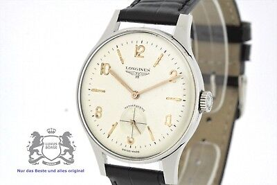 LONGINES Vintage JUMBO Men's Watch Cal. 30L from 1965 with Papers (2369)