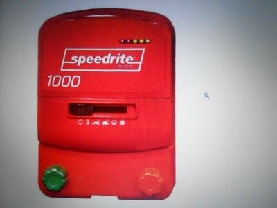 Speedrite 1000 Electric Fence Energiser For Use With 12V Battery