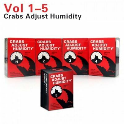Crabs Adjust Humidity Vol 1,2,3,4,5 Set cards against humanity expansions Au