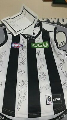 **signed collingwood jersey 2015**