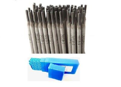 "E7018 3/32"" 50LB STICK ELECTRODE 7018 WELDING ROD 5 PACKS, 10Ib Each Pack"