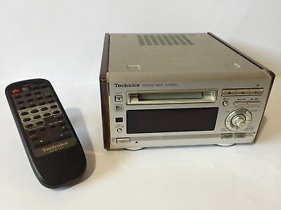 TECHNICS SJ-HD501 Minidisc Deck Superb Quality RARE (fully tested and working)