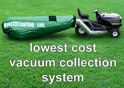 Monster Leaf Bag Adapter Kit If Craftsman Lawn Tractor Is