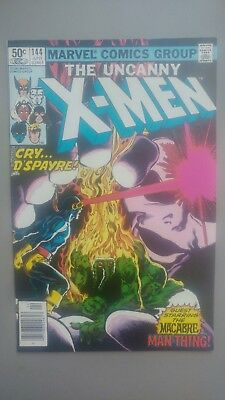 The Uncanny X-Men #144 LAST BYRNE! Man-Thing Appearance! Sharp NM Condition!