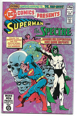 DC Comics Superman and the Spectre January #29