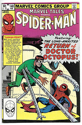 Marvel Comics Spiderman and the return of Doctor Octopus February  #148