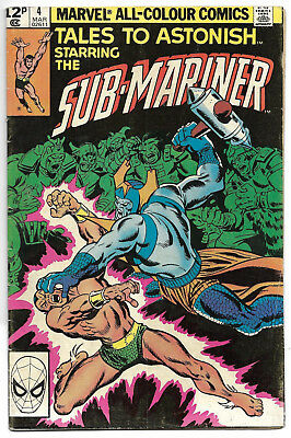 Marvel Comics Tales to Astonish Starring the Submariner  4 March 02611