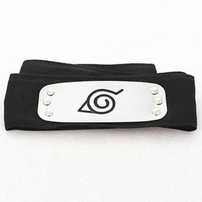 Naruto's Ninja Headband Konoha Leaf Logo Costume Cosplay Part