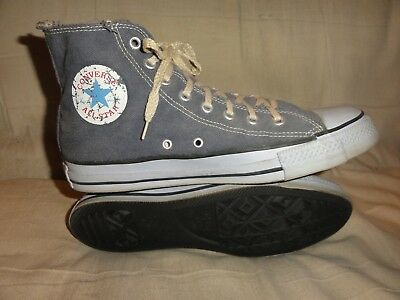Vintage Converse Purple High Tops Made In Usa Size 10 Made To Look Worn
