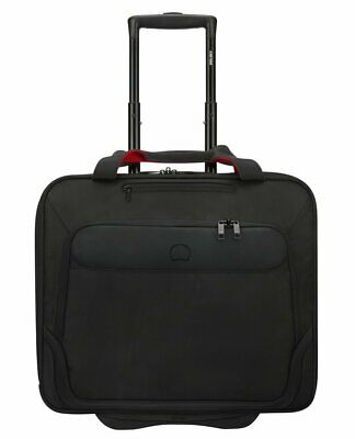 """Rolling Tote for pc 17,3"""" DELSEY Parvis + 3944451 Black"""