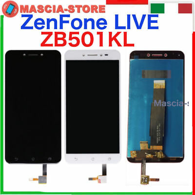 Completo TOUCH SCREEN VETRO LCD DISPLAY ASSEMBLATO per ASUS ZENFONE LIVE ZB501KL