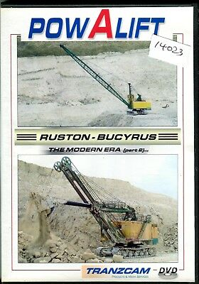 Powalift Ruston Bucyrus The Modern Era Part 2 DVD (52 minutes)