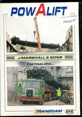 Powalift J Marshall & Sons the Final Era DVD (50 minutes)