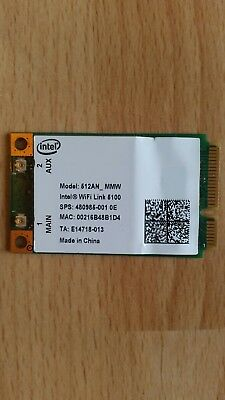 Intel WiFi Link 5100 Wireless 802.11n Mini Wi-Fi 512AN MMW