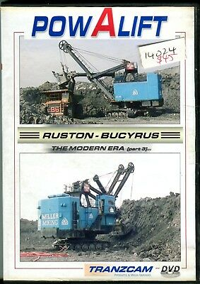 Powalift Ruston Bucyrus The Modern Era Part 3 DVD (58 minutes)