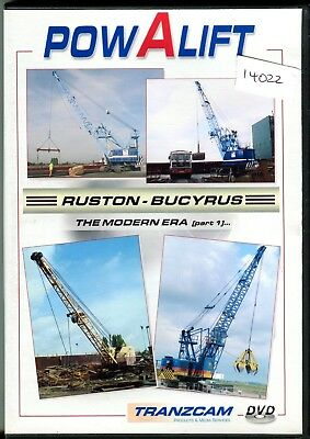 Powalift Ruston Bucyrus The Modern Era Part 1 DVD (52 minutes)