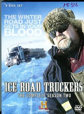 Ice Road Truckers complete season two DVD 3 disc set