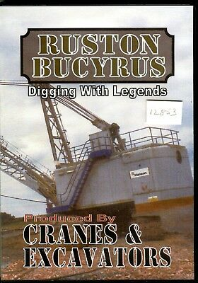 Cranes & Excavators Ruston Bucyrus Digging with Legends DVD