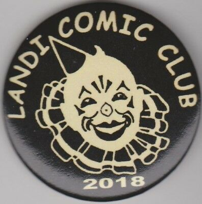 Rare Black 2018 Philadelphia  Mummers Landi Comic Club pin New Years Day parade