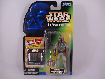 Ff1 Star Wars Potf2 Boba Fett Freeze Frame Moc