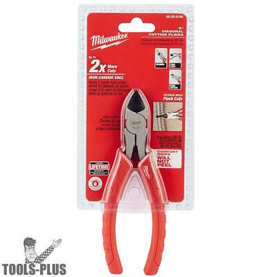 "Milwaukee 48-22-6106 6"" Diagonal Cutting Pliers New"