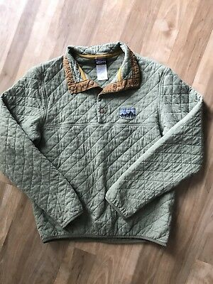 e1197e493c4 PATAGONIA MEN S COTTON Quilt Snap-T Pullover Green -  115.65 ...