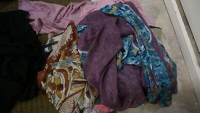 lot of Scarfs And hijab Variety