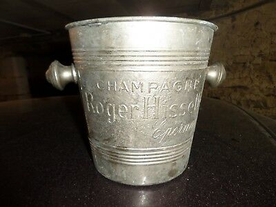 champagne bucket ancien seau a champagne roger hissel epernay